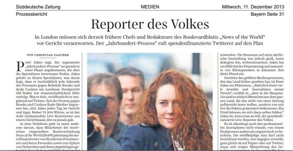 Reporter Des Volkes